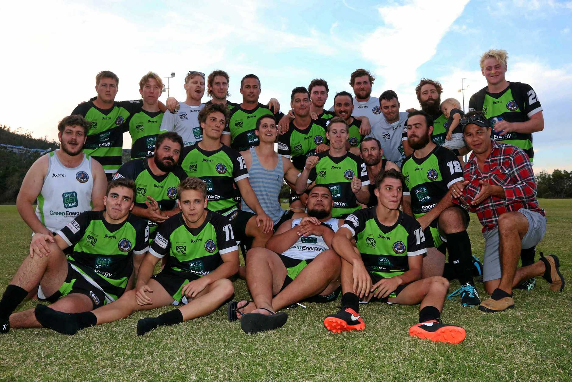 BOW OUT: The Whitsunday Raiders bow out after a 35-13 loss to the Kuttabul Camelboks.
