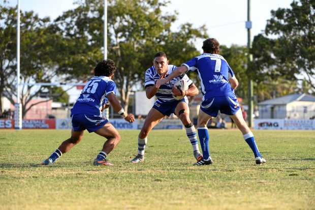 Brothers' Quentin Olive was named man of the match against the Wallaroos in the grand final.