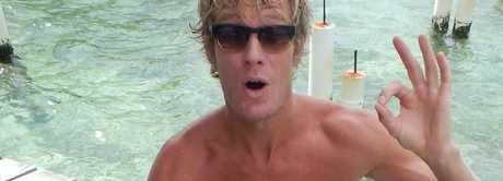 Surfer Abe McGrath was attacked at Iluka Beach on Sunday morning.