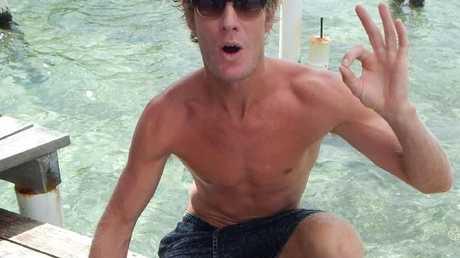 Surfer Abe McGrath was attacked at Iluka Beach on Sunday morning.