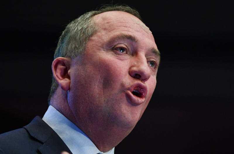 Deputy Prime Minister Barnaby Joyce: