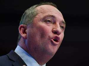 Barnaby Joyce: 'get out of my face'