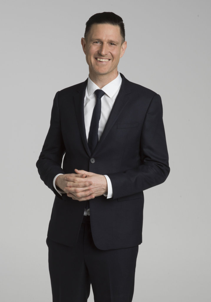 Host Wil Anderson returns for season nine of Gruen.