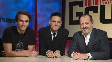Gruen's Todd Sampson, Wil Anderson and Russel Howcroft are set for another season on the panel.