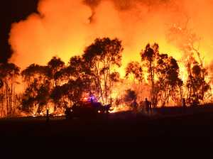 KNOW YOUR PLAN: Burrum Heads blaze downgraded
