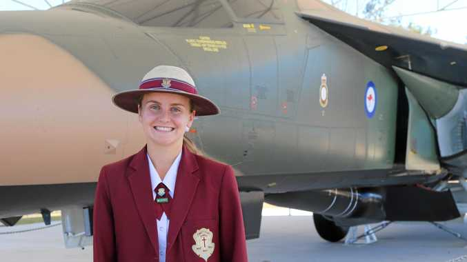 SOARING HIGH: St Mary's College student Dana Evans will travel to Perth in the school holidays to take part in flight camp.