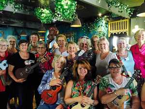 A case of 'have ukelele, will travel' to Cook Islands
