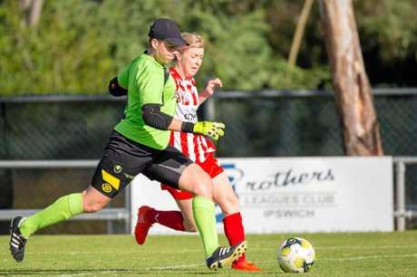 Western Pride women's player of the year Kirsten Vereen.