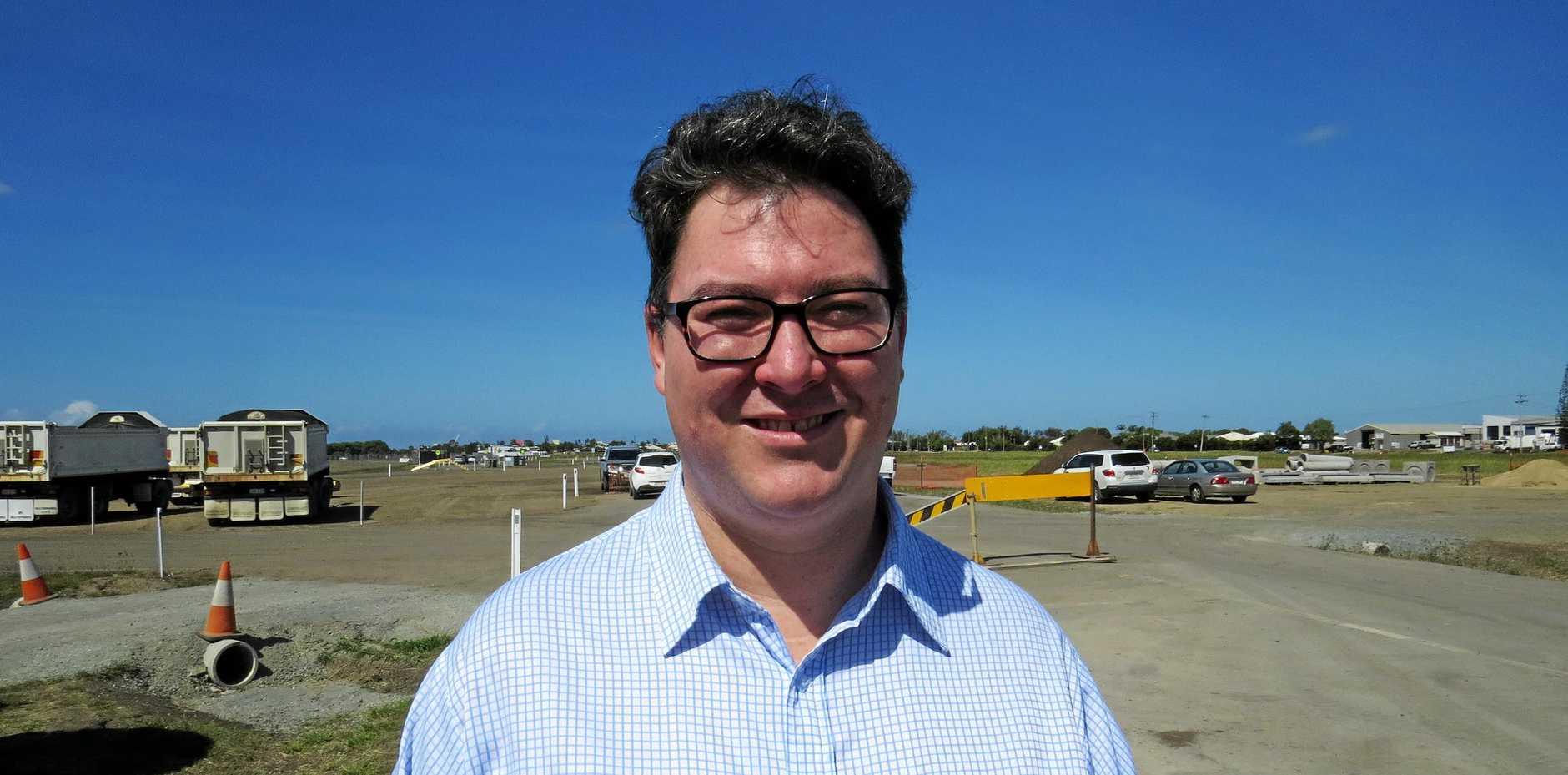 Federal MP for Dawson, George Christensen.
