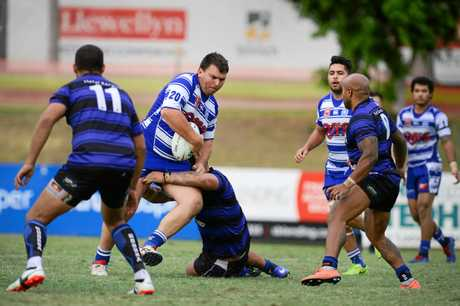 POWER: Brothers prop Matthew Bell was on fire in the grand final.
