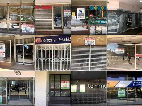 The Our Heart is Not For Sale Facebook page posted this photo on social media, raising concerns about CBD vacancies.