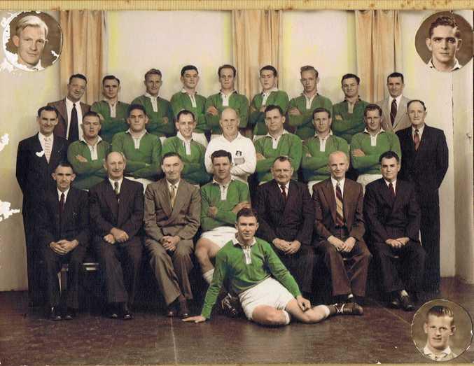 LEAGUE CHAMPIONS: Fitzroy's premiership-winning team of 1957.
