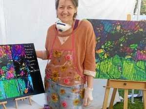 Woman keeping sister's memory alive through art