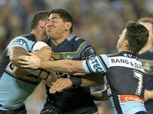 Cowboys sledge backfires on Sharks skipper Gallen
