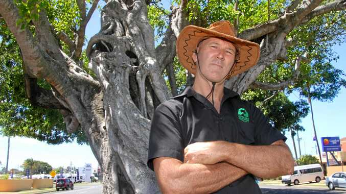Landcare president Mike Johnson is upset the Bundaberg Regional Council did not waive the green waste fee, but charged as if they were a business.
