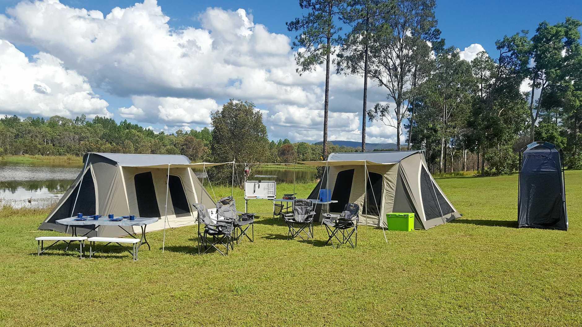 Generic camp site