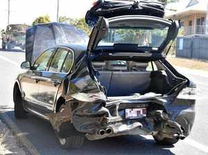 Two hospitalised after Boyne Island crash
