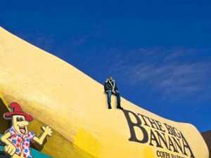 REVEALED: What's Drake doing on our Big Banana?