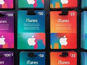 iTunes gift cards target of scammers