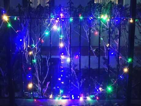 People are decorating their homes as part of the #putoutyourfairylights campaign
