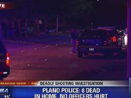Eight people including the gunman are dead after-party shooting in the US. Picture: Fox NewsSource:Supplied