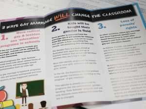 Readers speak out over Coalition for Marriage flyers