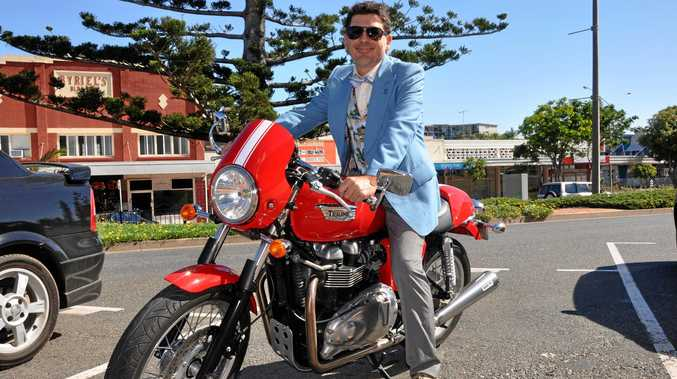 RIDING IN STYLE: Jason Murphy is keen to see all riders join in this year's fundraiser.