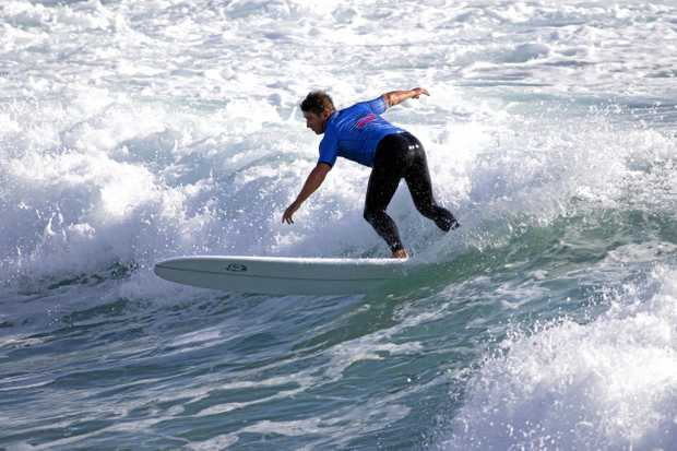 Dean Bevan of Kingscliff has qualified for next year's WSL World Professional Longboard Tour.