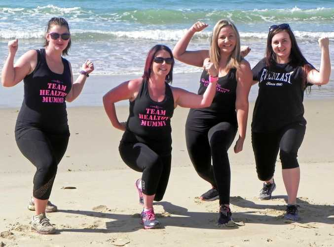MUM POWER: Over 380 women have stepped up to the Healthy Mummy challenge.