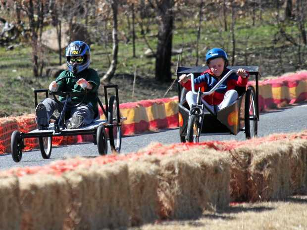The Ballandean Billy Cart Bash took place on Sunday.