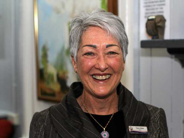 Southern Downs mayor Tracy Dobie at Artworks Granite Belt on Tuesday.