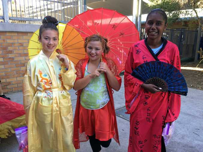Centaur Primary School students got into the spirit of things for Multicultural Day.