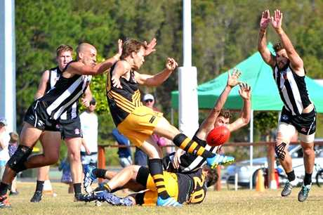 Tweed Coast gets a kick away in the Northern Rivers AFL grand final.