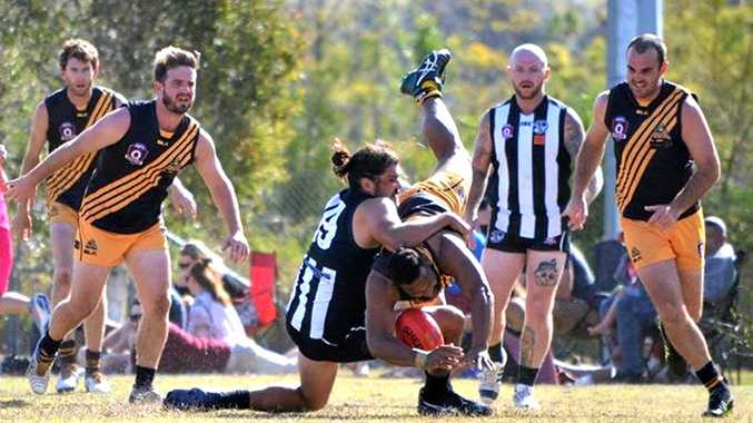 Tweed Coast Tigers went down to Byron in the Northern Rivers AFL grand final at Byron Bay on Saturday.