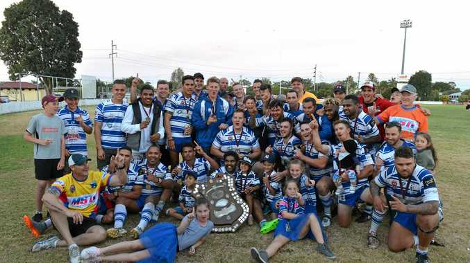 Past Brothers won the Bundaberg Rugby League A-Grade title with a 22-18 win over Wallaroos.