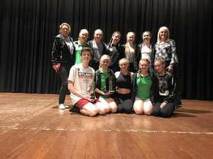 Warwick dancers claim top group trophies
