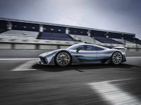 The Mercedes Project One.