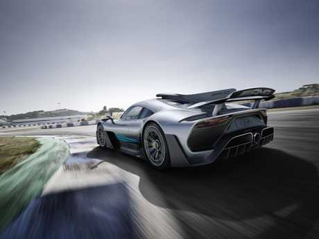 The Mercedes Project One is an F1 which is fit for the road.