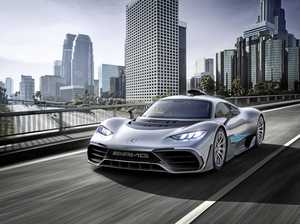 The Mercedes-AMG Project One car has been revealed