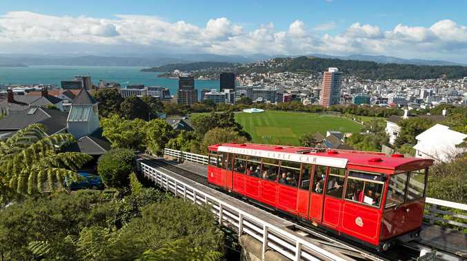CLASSIC RIDE: Take the cable car to the botanic gardens.
