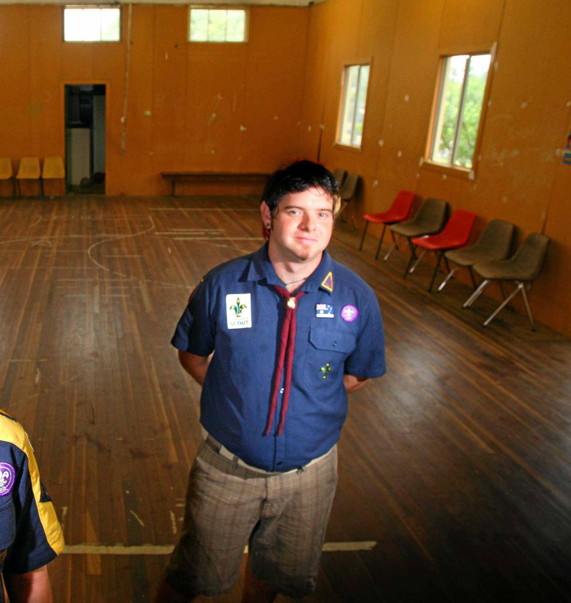 Scouts Cub leader Brock Emil Dittman.