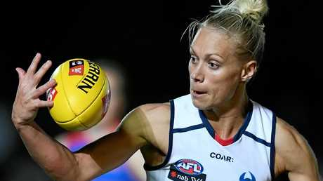 AFLW best-and-fairest winner Erin Phillips, of the Crows.