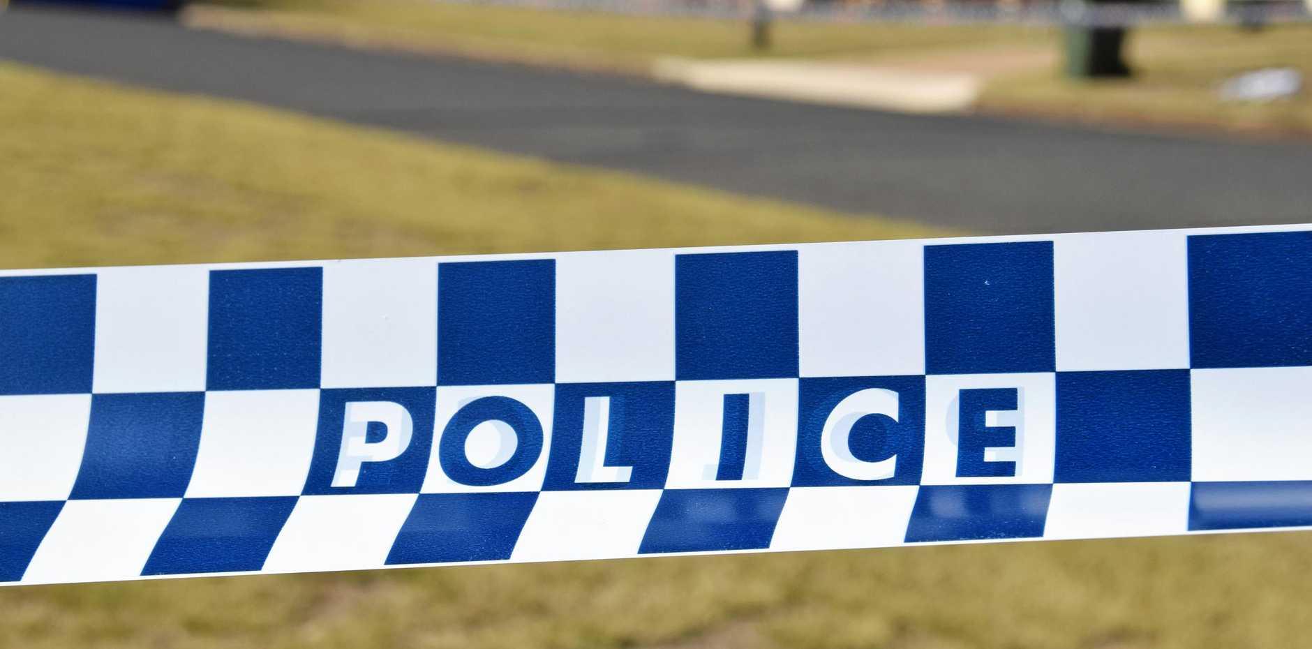 Police crime scene.