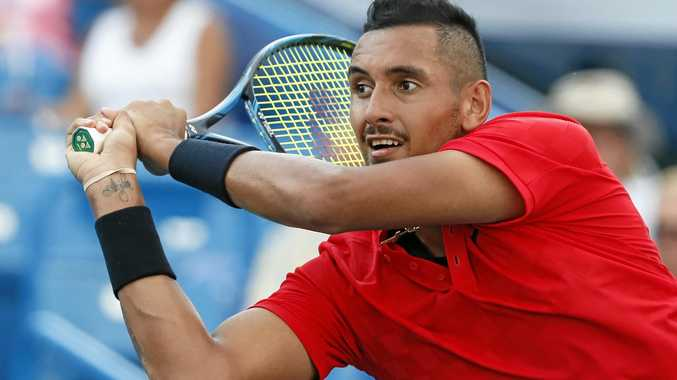 Nick Kyrgios will play for Australia in this week's Davis Cup clash with Belgium.
