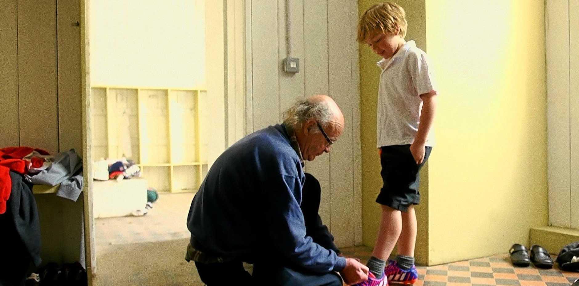 FILMS: School Life documentary co-central character, John Leyden.