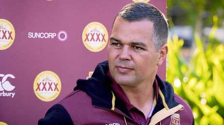 Rockhampton's Anthony Seibold was assistant coach with the Maroons for two years.