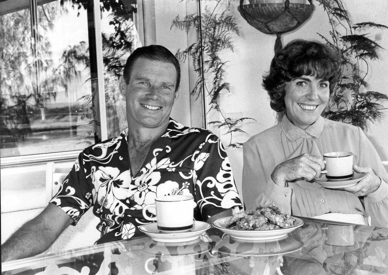 BRUCE Laming and his wife Estelle after a successful early political campaign.