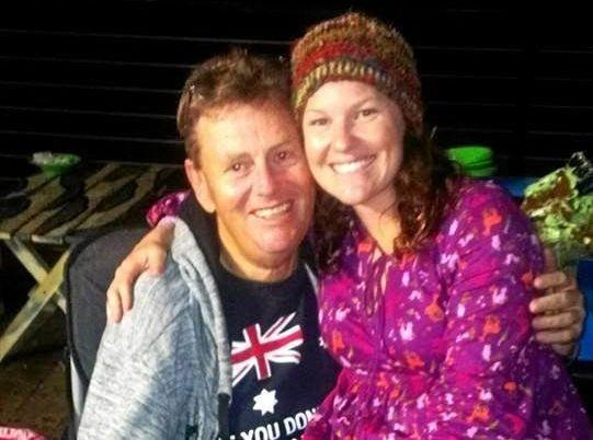 Rod Blair with daughter Tara Pitt.