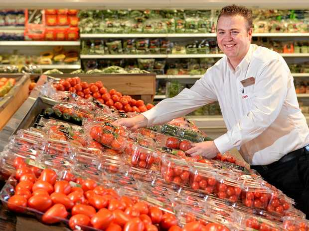 Coles Ipswich manager Ben Muller is celebrating 25 years in the job.
