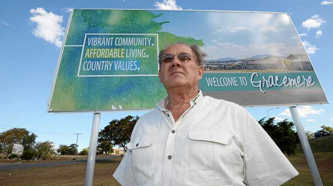 CHANGE AHEAD: Glen Lynch led the call to change to the Gracemere postcode.